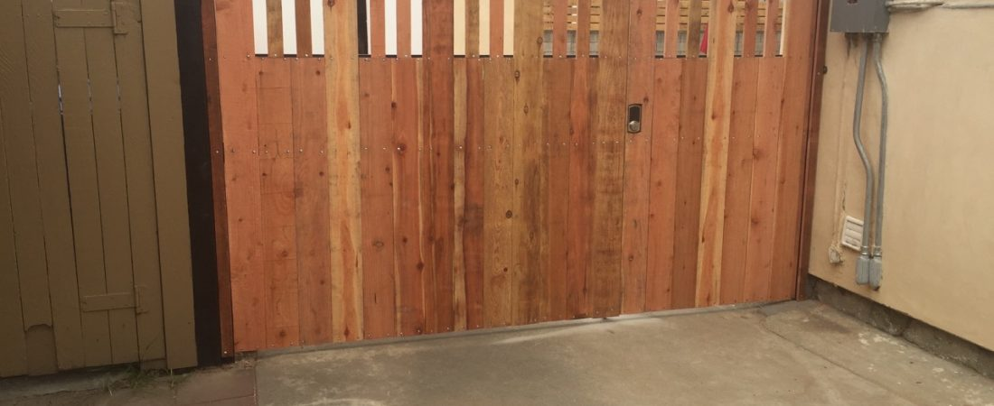 custom wood fence building los angeles ca