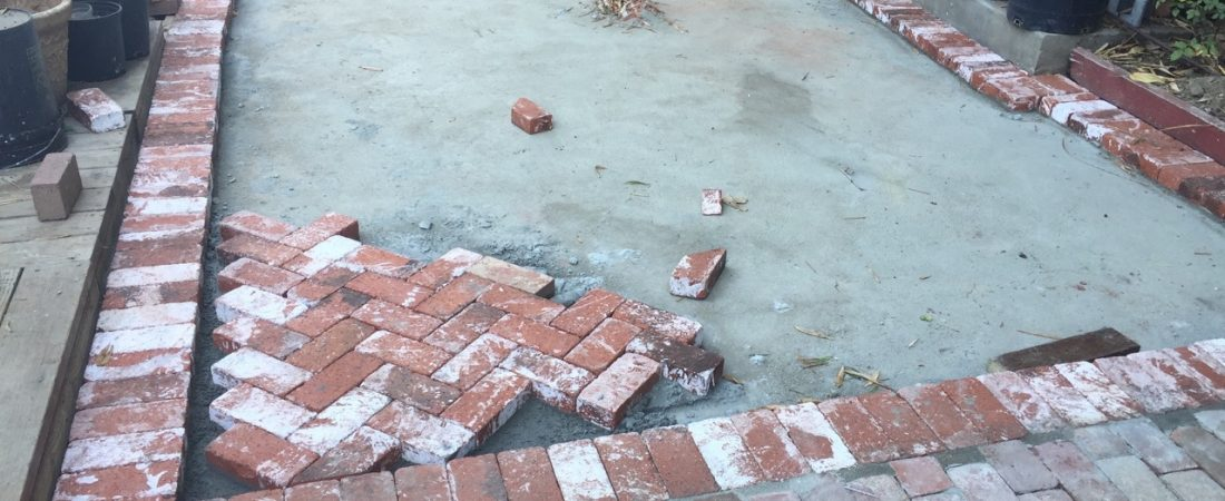harringbone brick work los angeles