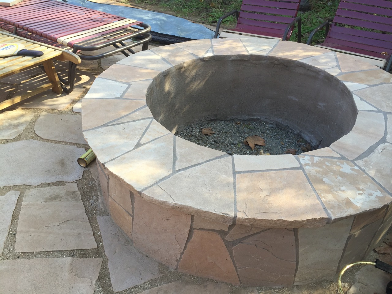 fire pit design for client within los angeles and orange county area